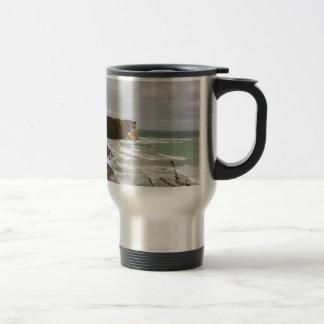 Island reproaches Cape Arkona Travel Mug