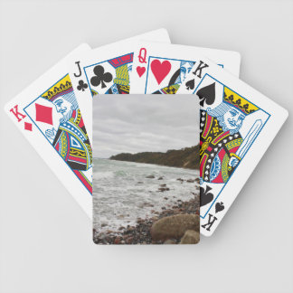 Island reproaches in the Baltic Sea Bicycle Playing Cards