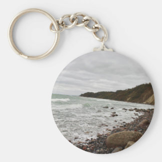 Island reproaches in the Baltic Sea Keychain