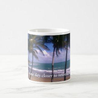 Island Retirement Dreams Coffee Mug