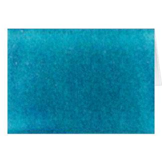 Island Sea Blue Watercolor - Teal and Aqua Card