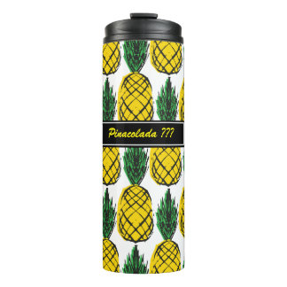 ISLAND STYLE SUMMER PINEAPPLE THERMAL TUMBLER
