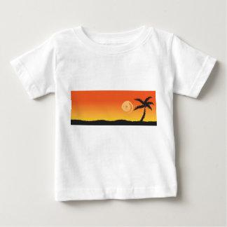 Island Sunset Baby T-Shirt