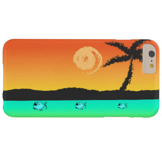 Island Sunset Barely There iPhone 6 Plus Case