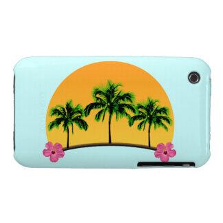 Island Sunset iPhone 3 Case-Mate Cases