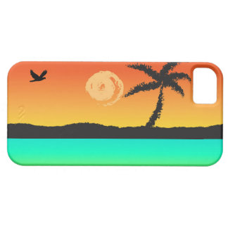 Island Sunset iPhone 5 Cases