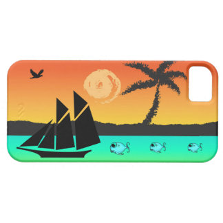 Island Sunset iPhone 5 Cover