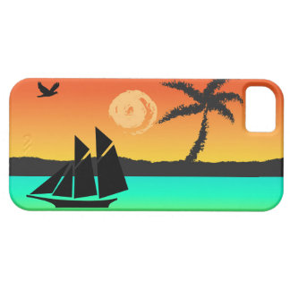 Island Sunset iPhone 5 Covers