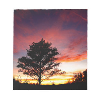 Island Sunset Notepad