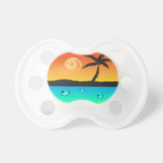 Island Sunset Pacifier