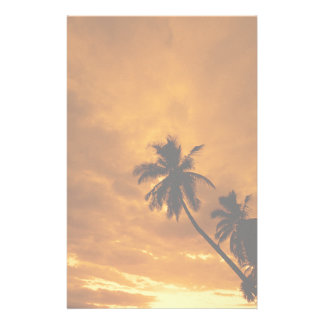 Island Sunset Stationery
