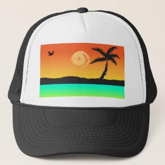 Island Sunset Trucker Hat