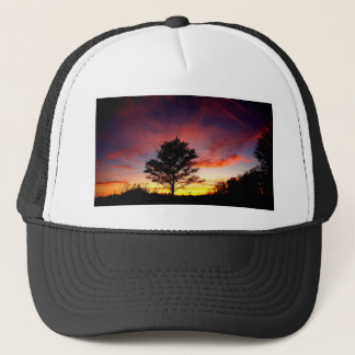 Island Sunset Trucker Hat