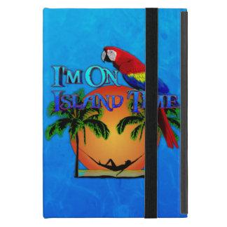Island Time In Hammock Cover For iPad Mini