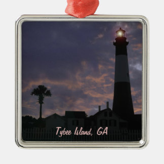 Island Time Metal Ornament