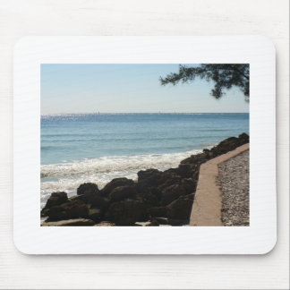 Island trees and surf mousepad