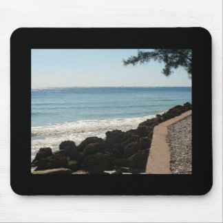 Island trees and surf mouse pad