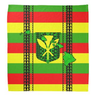 Island Tribal Kanaka Maoli Flag Bandana
