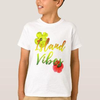Island Vibes Rasta Reggae Tropical T-Shirt