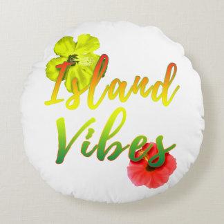 Island Vibes Round Pillow