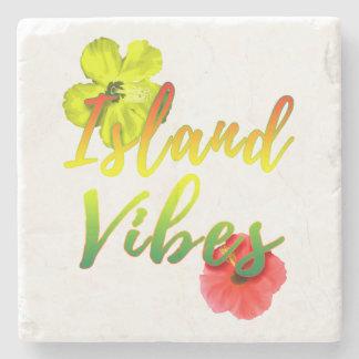 Island Vibes Stone Coaster