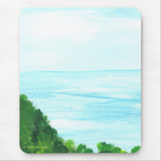 Island view mouse pad