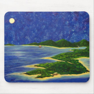 Island Visitor Mouse Pad