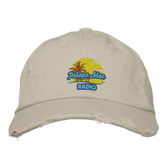 Island Worn and Weathered Embroidered Hat