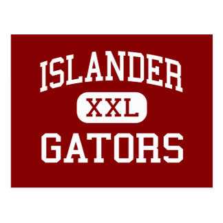 Islander - Gators - Middle - Mercer Island Postcard