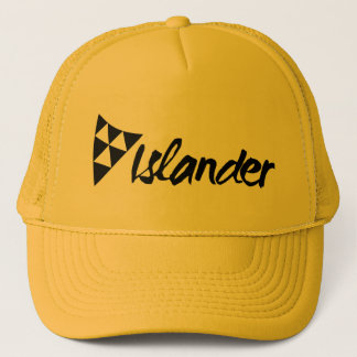 Islander Yellow Trucker Cap
