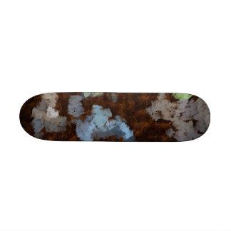 Islands in water custom skateboard