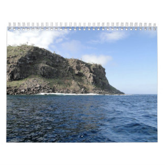 Islands of Galapagos Wall Calendar
