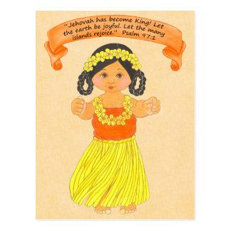 Islands Rejoice~Scripture~Print Postcard