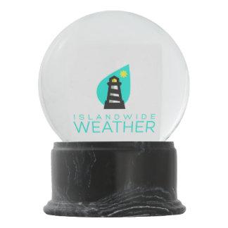 Islandwide Weather Snow Globe