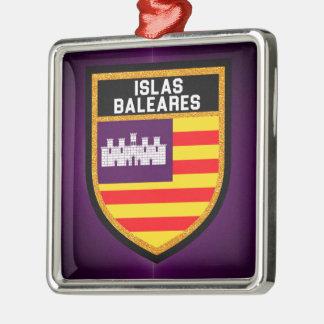 Islas Baleares Flag Metal Ornament