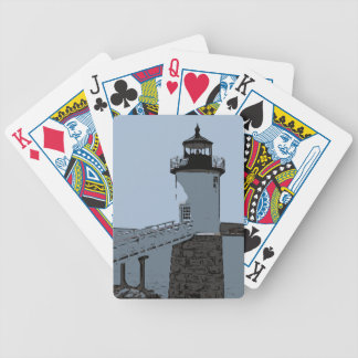 ISLE AU HAUT LIGHT BICYCLE PLAYING CARDS