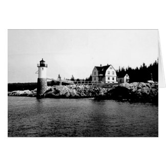 Isle Au Haut Lighthouse Card