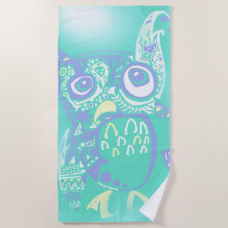Isle Beastie Beach Towel