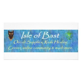 Isle of Bast Photo Card Template