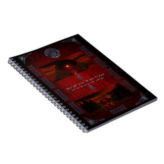 Isle of Black Flame/Realm of Fire and Ash Spiral Notebook