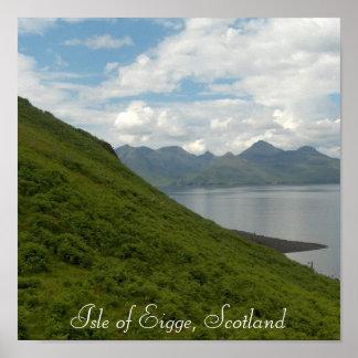 Isle of Eigge, Scotland Poster