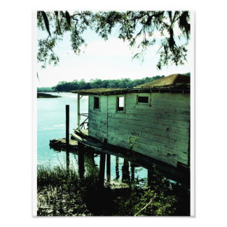 Isle Of Hope Boat House Photograph