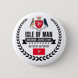 Isle of Man 2 Inch Round Button