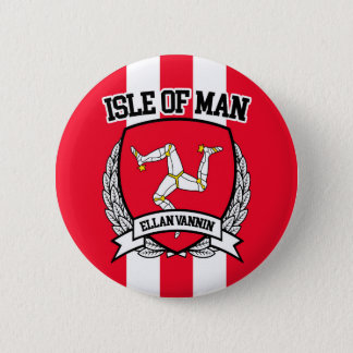 Isle of Man 2 Inch Round Button