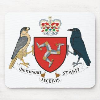 isle of man emblem mouse pad