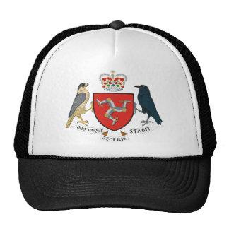 isle of man emblem trucker hat