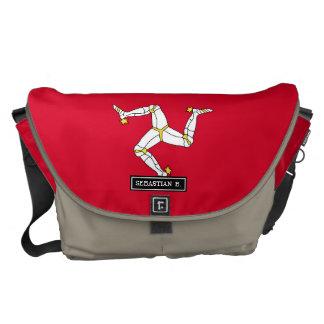 Isle of Man Flag Commuter Bag