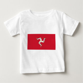 Isle of Man Flag - Manx Flag - Brattagh Vannin Baby T-Shirt