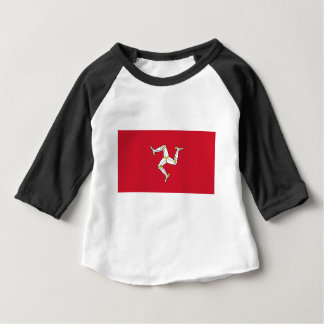 Isle of Man Flag - Manx Flag - Brattagh Vannin Baby T-Shirt