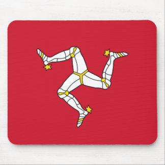 Isle of Man Flag - Manx Flag - Brattagh Vannin Mouse Pad